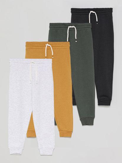 Paquet de 4 pantalons de pelfa bàsics