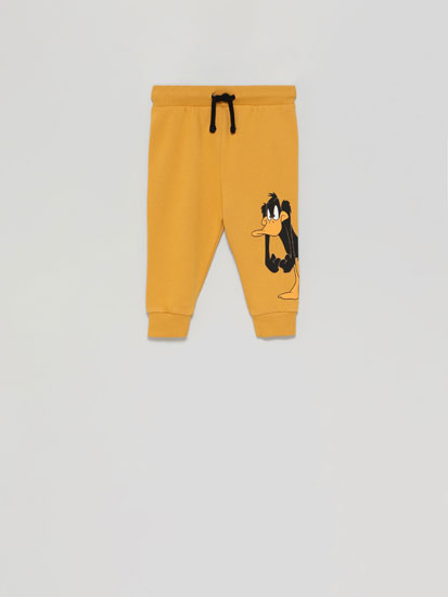 Daffy Duck © &™ Warner Bros tracksuit bottoms
