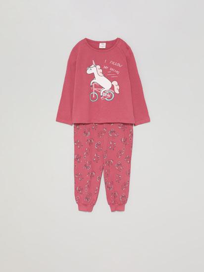 Conjunt de pijama estampat brillantor