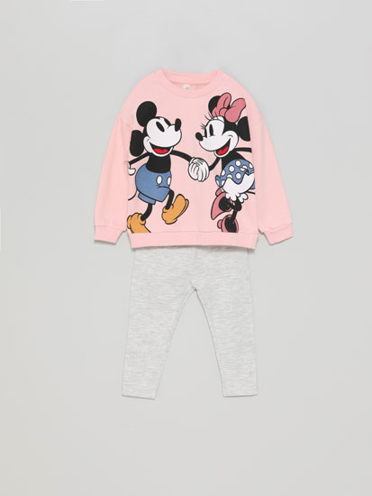 Minnie ©Disney tracksuit top and leggings