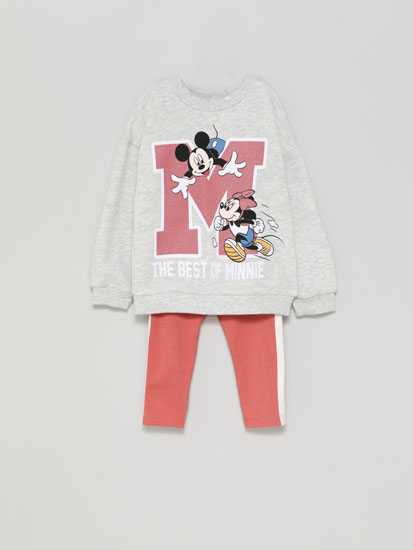 Conjunt de dessuadora i leggings Minnie ©Disney