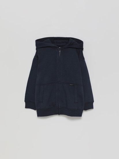 Basic plush jacket