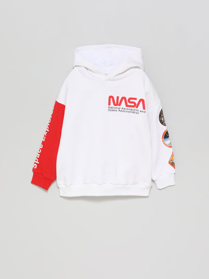Suadoiro con estampado NASA
