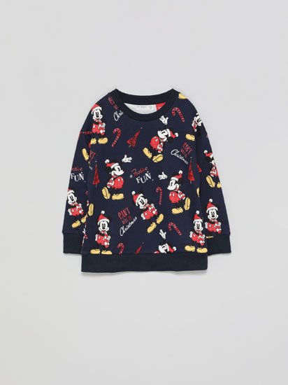 Suadoiro con estampado do Nadal ©Disney