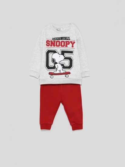 SNOOPY ® PEANUTS SWEATSHIRT AND TROUSERS SET