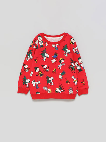 Snoopy ™ Christmas print sweatshirt