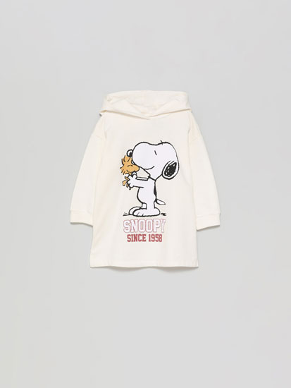 Snoopy™ Peanuts™ dress with hood