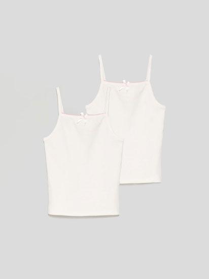 Pack de 2 camisolas interiores