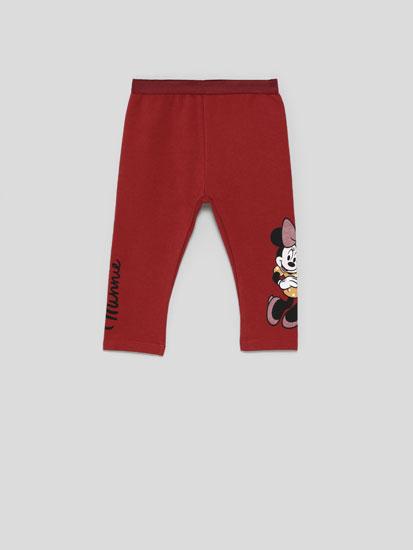 Minnie ©Disney leggings with shiny print