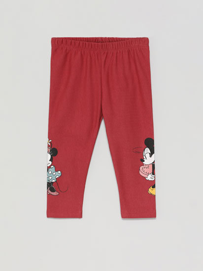 Leggings with Minnie ©Disney print