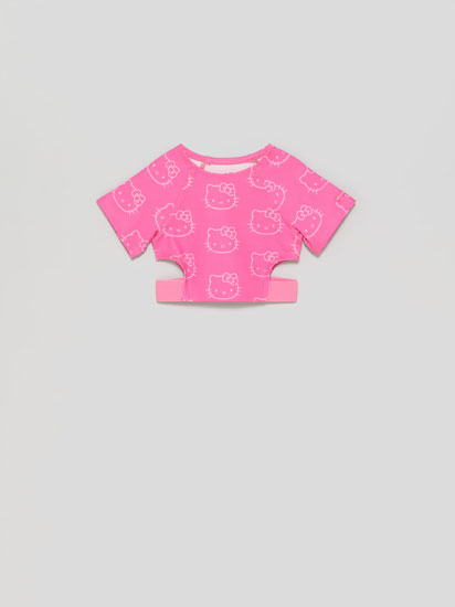 Top deportivo Hello Kitty