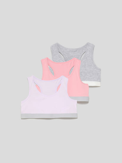 3-Pack of strappy tops