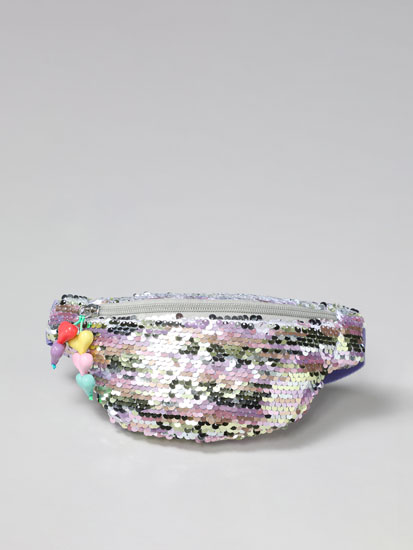 Belt bag with sequins