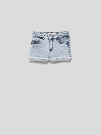 Pantalons curts texans esfilagarsats