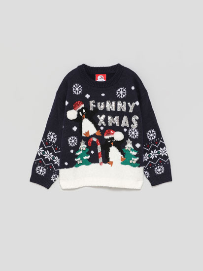 Christmas sweater with lights