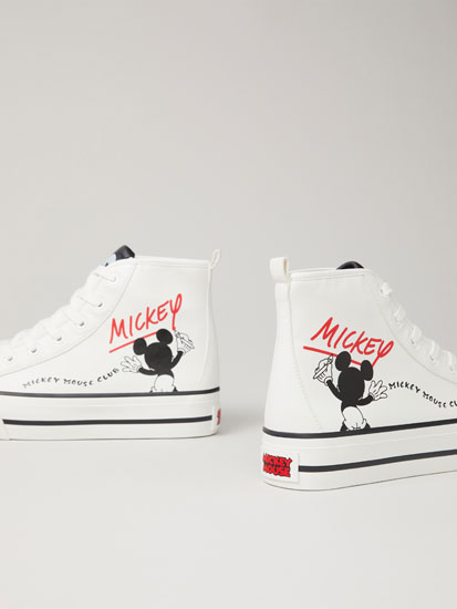 Mickey Mouse © Disney chunky high-top sneakers