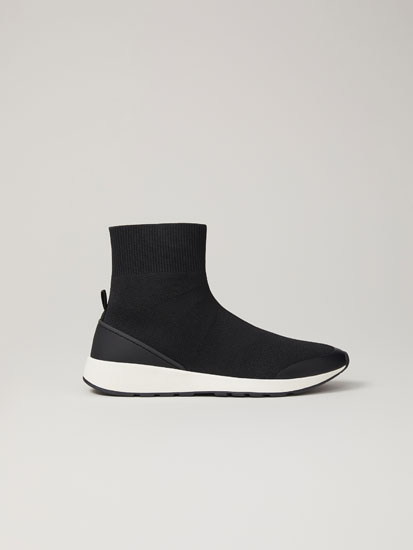 Deportivo botín calcetín