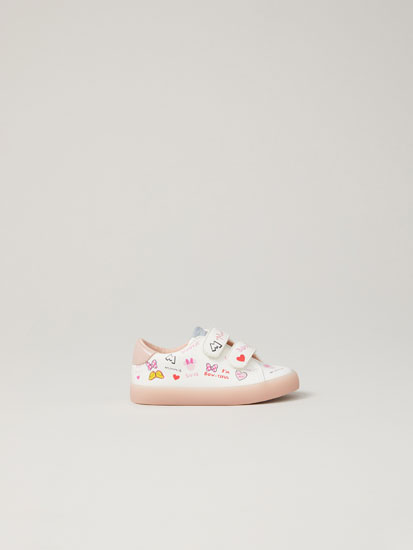 Minnie Mouse © Disney sneakers with contrast soles