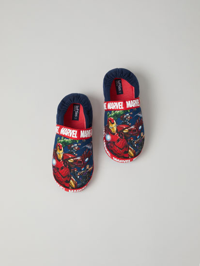 Comfy Marvel house slippers