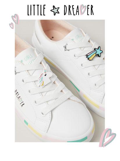 Pin sneakers