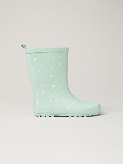 Two-tone wellies