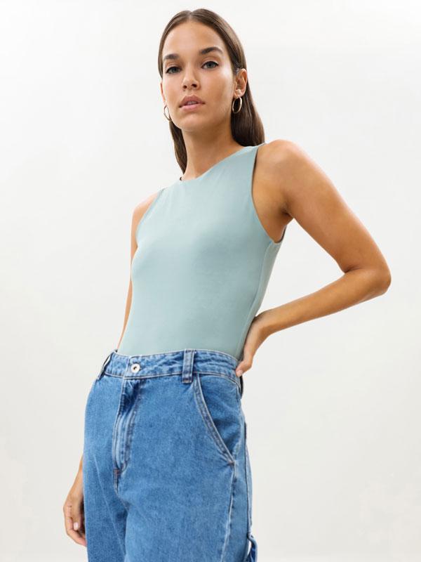 Stretch bodysuit