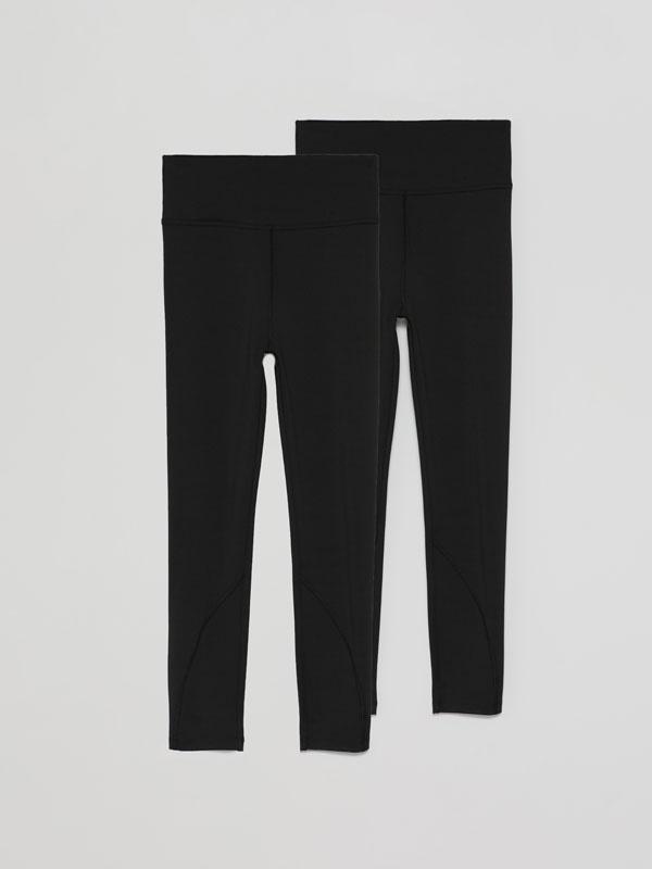 Pack de 2 leggings deportivos