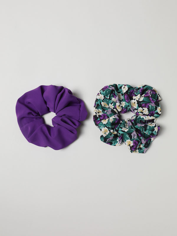 Pack of 2 scrunchies
