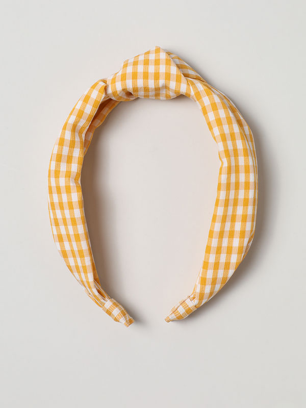 Check print headband