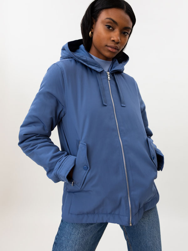 Basic hooded parka