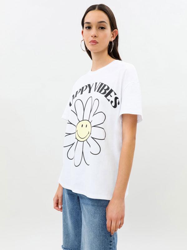 Smiley ® oversize T-shirt
