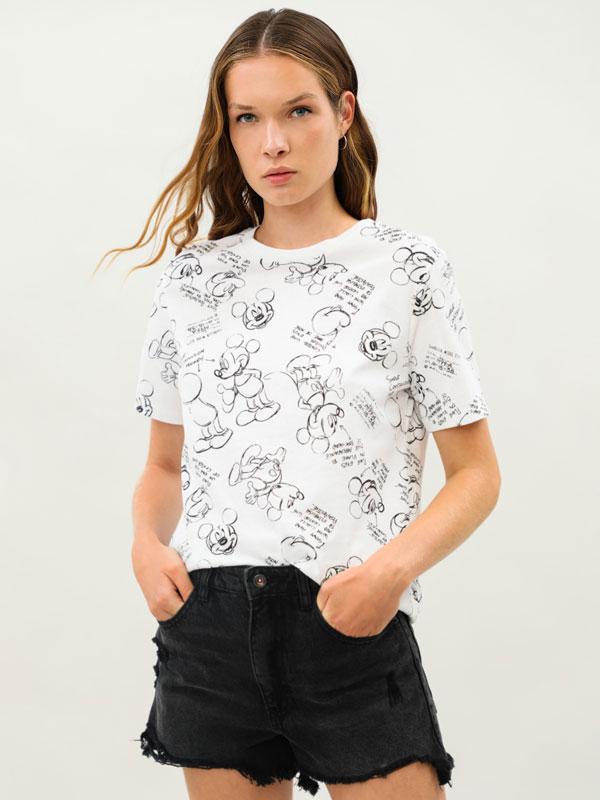 Mickey Mouse © Disney print T-shirt
