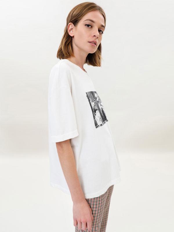 Camiseta con estampado fotográfico de Harry Potter © &™ WARNER BROS