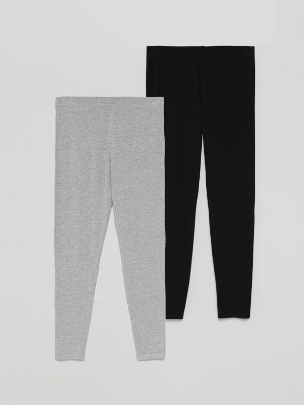 Paquet de 2 leggings llargs