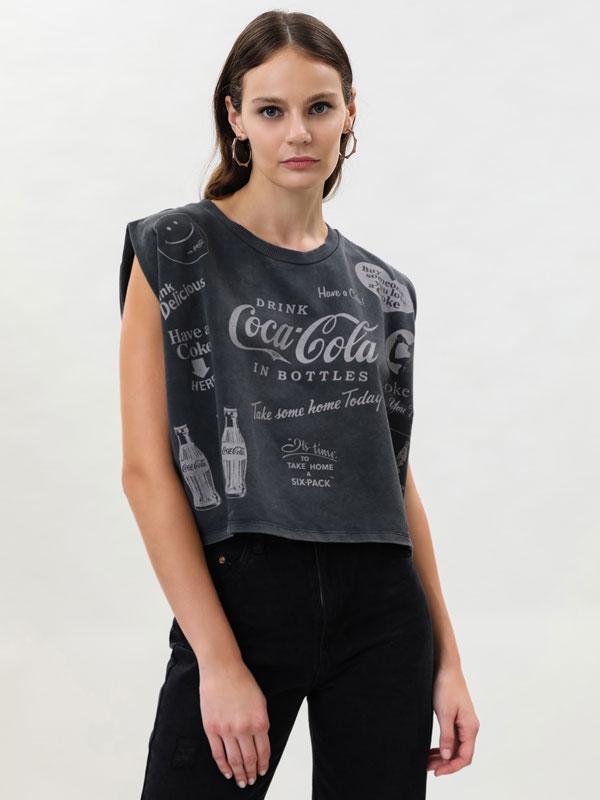 Oversize Coca-Cola® top