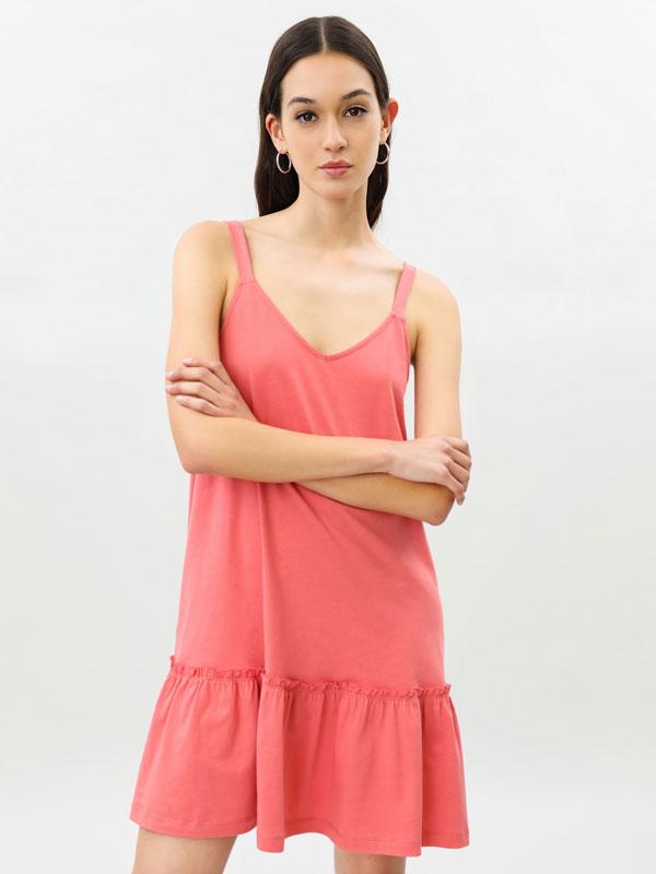 Short strappy dress