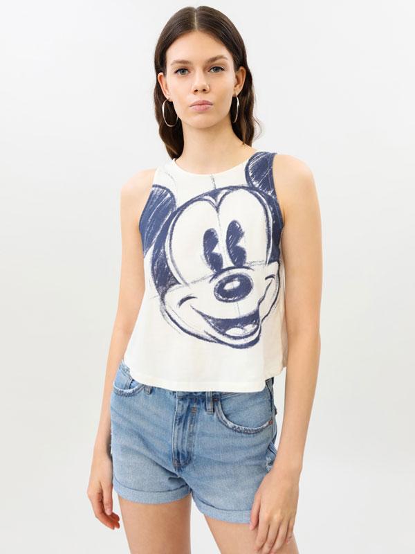 Top crop de Mickey Mouse ©Disney