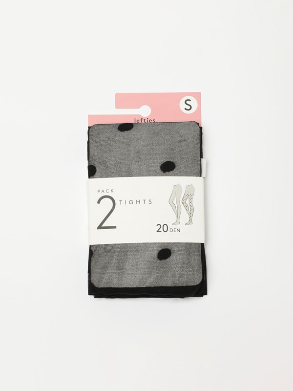 2-pack of combined tights