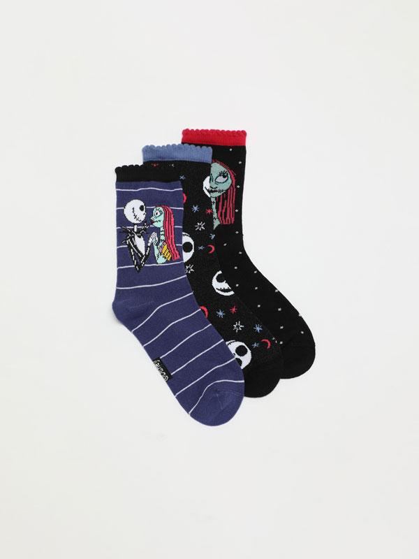 Calcetíns Pesadelo antes do Nadal ©Disney