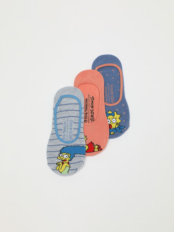 Pack of 3 pairs of The Simpsons socks
