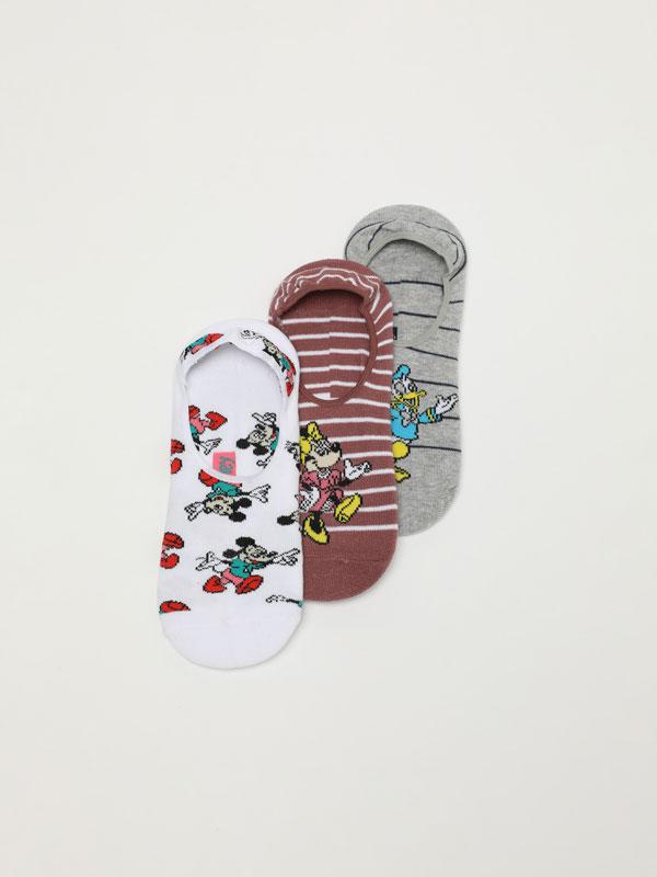 Pack of 3 pairs of ©Disney socks
