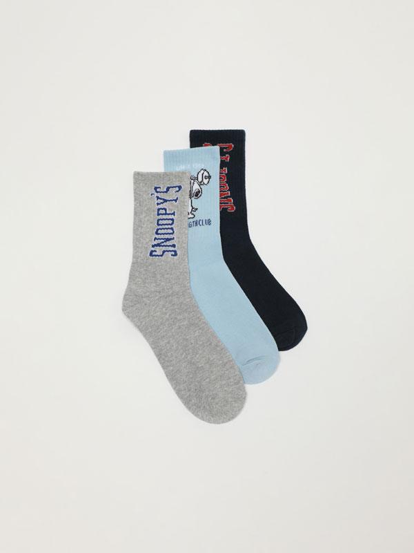 Pack of 3 pairs of Snoopy Peanuts™ long socks
