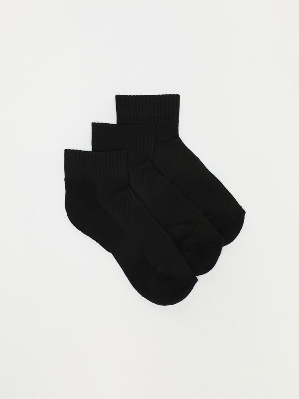 Pack of 3 pairs of sports socks