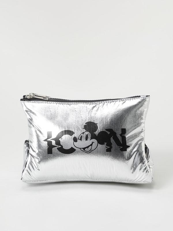 Mickey ©Disney metallic toiletry bag