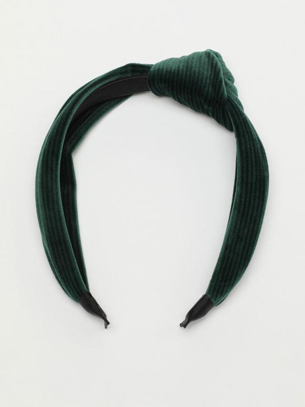 Corduroy headband