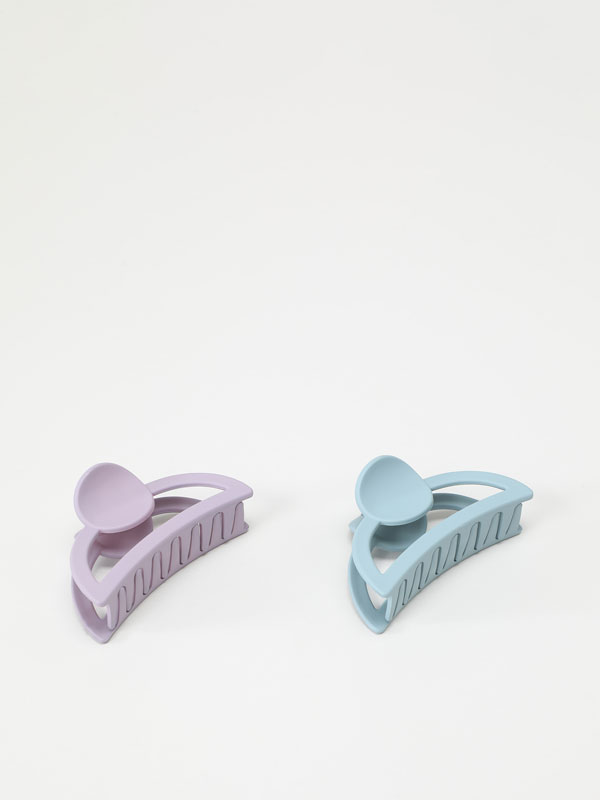 Pack of 2 hair clips