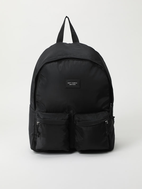 Backpack with pockets