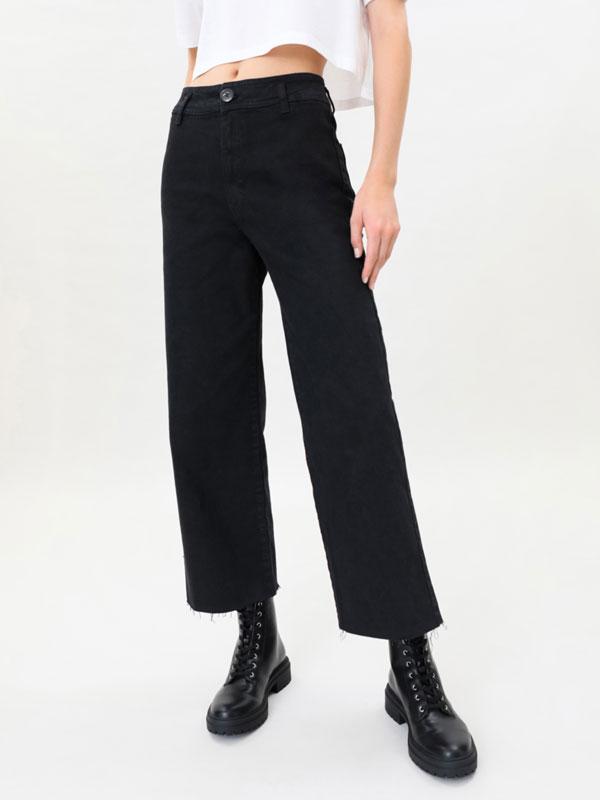 Jeans culotte vaquero