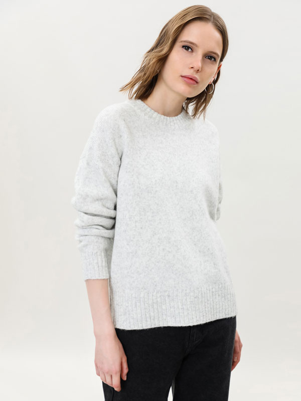 Oversize sparkly sweater