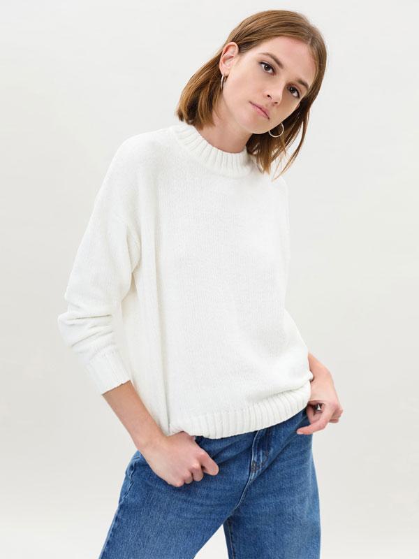 Sweater com gola alta